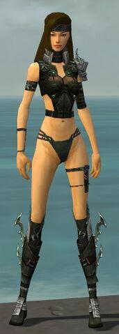 File:Assassin Elite Luxon Armor F gray chest feet front.jpg