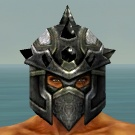 File:Warrior Obsidian Armor M gray head front.jpg