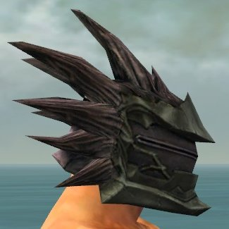 File:Warrior Primeval Armor M gray head side.jpg