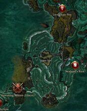 Silent Surf map