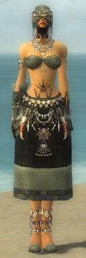 Ritualist Luxon Armor F gray front
