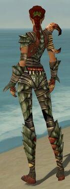 Ranger Elite Drakescale Armor F gray back