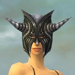 File:Warrior Wyvern Armor F gray head front.jpg