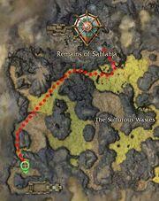 Alem the Unclean map