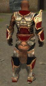 Goren Primeval armor back