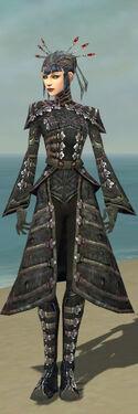 Necromancer Elite Cultist Armor F gray front