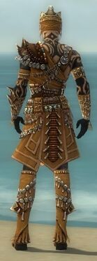Ritualist Elite Imperial Armor M dyed back