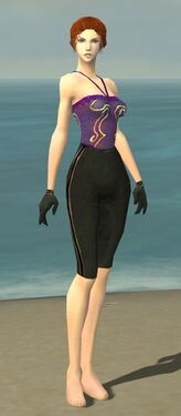 Mesmer Norn Armor F gray arms legs front