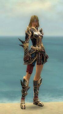 Warrior Monument Armor F nohelmet