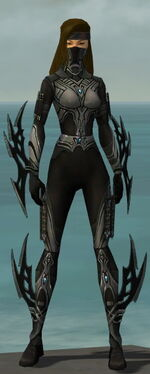 Assassin Vabbian Armor F gray front