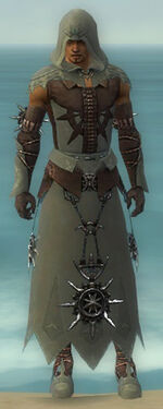 Dervish Elite Sunspear Armor M gray front