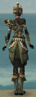 Ritualist Elite Imperial Armor F gray back