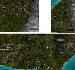 Tarnished Coast map elite labelled