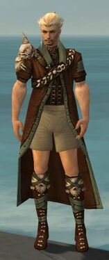 Ranger Krytan Armor M gray chest feet front