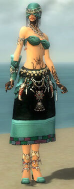 Ritualist Luxon Armor F dyed front