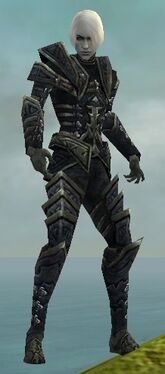 Necromancer Elite Cultist Armor M gray front