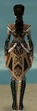 Ranger Kurzick Armor F dyed back