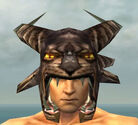 Warrior Charr Hide Armor M gray head front