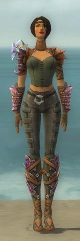 File:Ranger Drakescale Armor F gray front.jpg