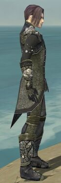 Elementalist Elite Stoneforged Armor M gray side