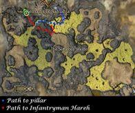Infantryman Hareh Map