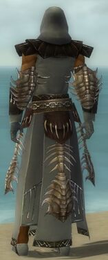 Dervish Primeval Armor M gray back
