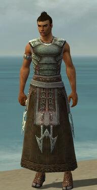 Dervish Deldrimor Armor M gray front