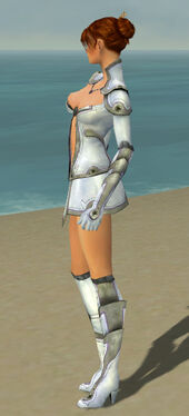 Elementalist Ascalon Armor F gray side