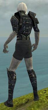Necromancer Elite Cultist Armor M gray chest feet back