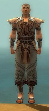 Monk Asuran Armor M gray front