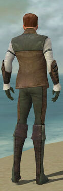 Mesmer Enchanter Armor M gray back