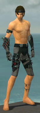 Assassin Seitung Armor M gray arms legs front