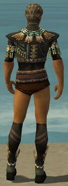 Ritualist Elite Luxon Armor M gray chest feet back