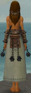 Dervish Obsidian Armor F gray arms legs back