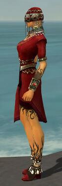 Ritualist Canthan Armor F dyed side