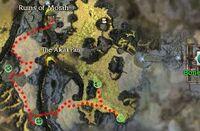 Under New Management map