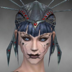 File:Necromancer Ancient Armor Female Headgear black front.jpg