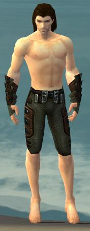 File:Ranger Obsidian Armor M gray arms legs front.jpg