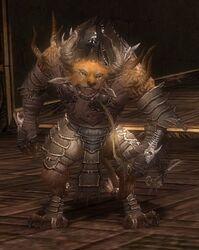 Pyre Fierceshot Armor Deldrimor Front