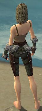 Ranger Elite Fur-Lined Armor F gray arms legs back