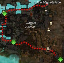 Mayhem in the Market map