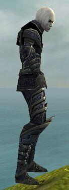 Necromancer Elite Cultist Armor M gray side