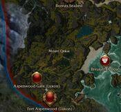 Mount Qinkai map