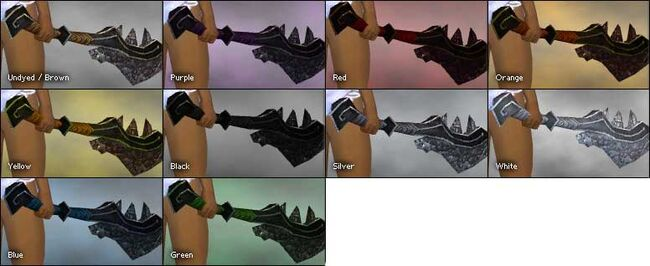 Asuran Sword colored