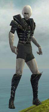 Necromancer Elite Cultist Armor M gray chest feet front