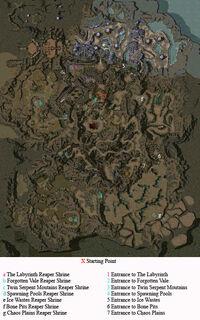 The Underworld Map Shrine Entrance Locations