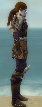 Ranger Studded Leather Armor M dyed side
