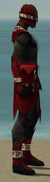 Ritualist Kurzick Armor M dyed side alternate