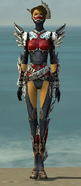 Assassin Asuran Armor F dyed front