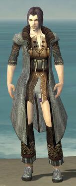 Elementalist Vabbian Armor M gray chest feet front